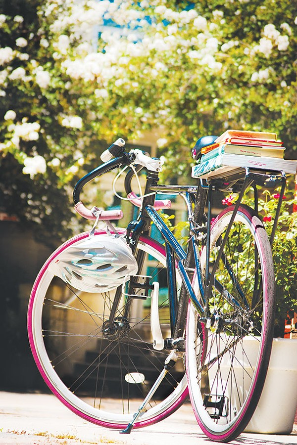 Want to sport a head-turning accessory on campus? Get a bike - RACHEL BOWES