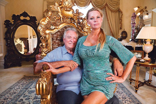 Watch the throne: David and Jaqueline Siegel. - COURTESY PHOTO