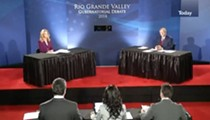 Wendy Davis and Greg Abbott Debate for the First Time