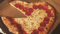 What I Ate: Love and heart-shaped pizzas