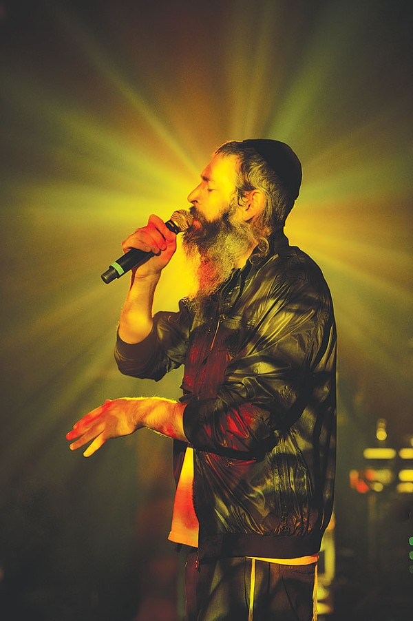When he doesn't sound like Jacko on NyQuil, Matisyahu is killing in the name onstage. - COURTESY PHOTO