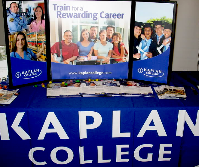 Kaplan College will pay the federal government more than $1.3 million to settle a whistleblower lawsuit. - PHOTOBUCKET