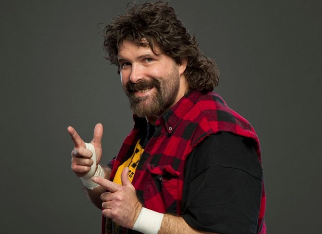 Wrestler turned stand-up comedian MIck Foley - COURTESY