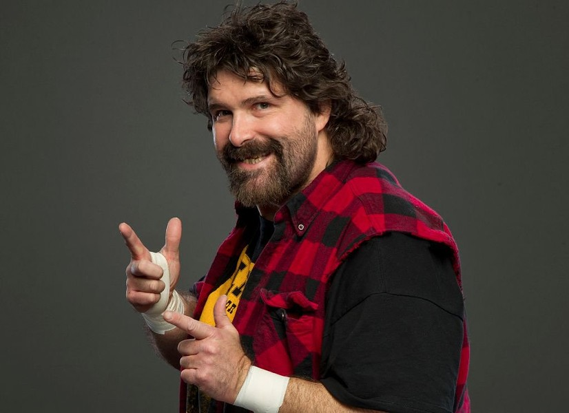Wrestler turned stand-up comedian MIck Foley - COURTESY