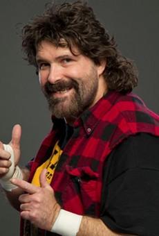 Wrestler turned stand-up comedian MIck Foley