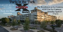 X-FACTOR - Party in the Park Saturday April 25, 2015