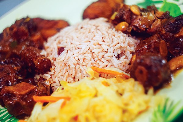 Ya, mon: Oxtails from Jamaica Jamaica Cuisine - PHOTOS BY JOSH HUSKIN