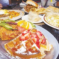Travels with Frenchie: Trio praises Tucker's gospel brunch