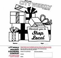 2011 Holiday Coloring Contest