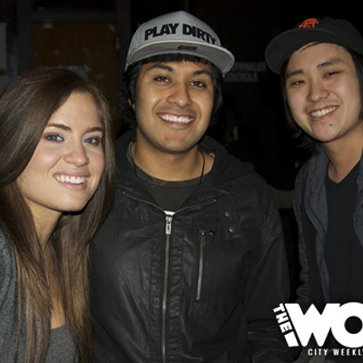 2012 CWMA: DJ Spin-off at W Lounge (2.1.12)