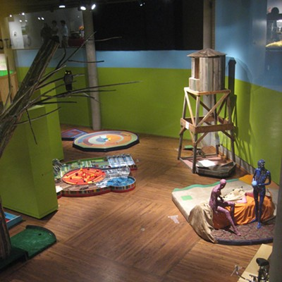 337 Mini Golf - Salt Lake Art Center: 6/17/10