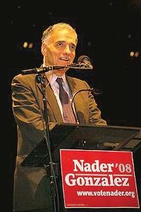 5 Spot | Independent Presidential Candidate Ralph Nader