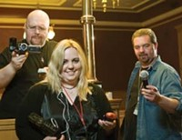 A&E | Haunting Party: Paranormal investigators compare notes in Ogden