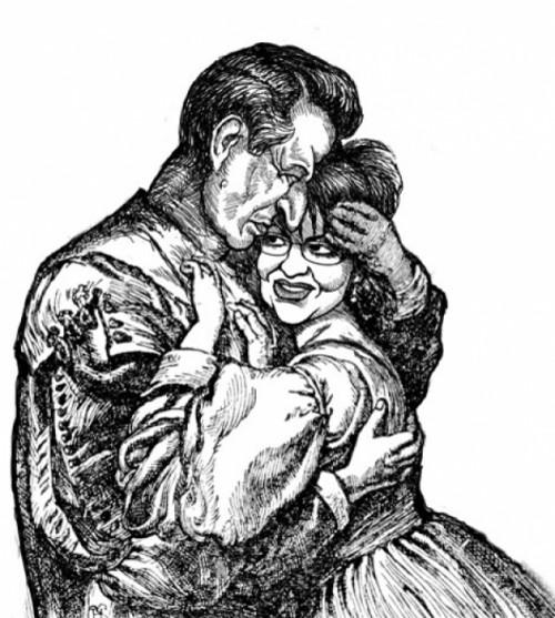 Al & Sarah Embrace - JOHN KILBOURN