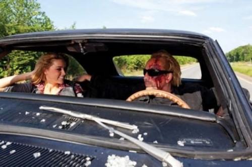 Amber Heard, Nicolas Cage - DRIVE ANGRY