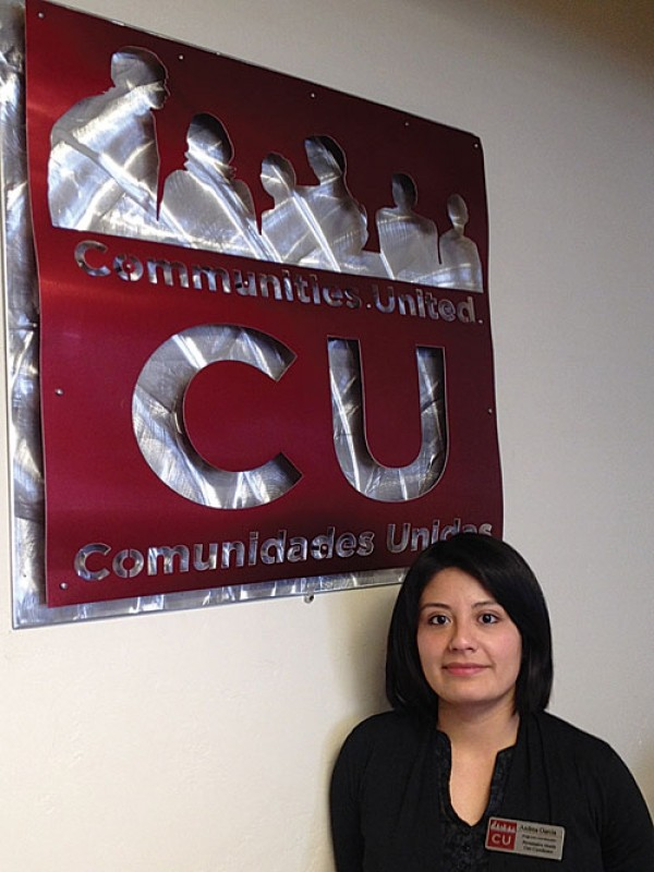 Andrea Garcia, a health-care navigator with Comunidades Unidas - ERIC S. PETERSON