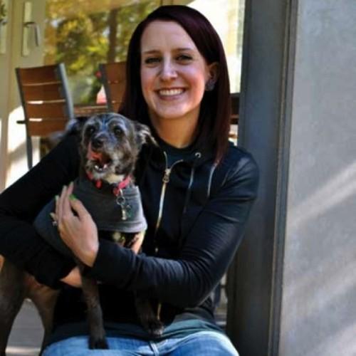 Ann Wigham and her dog Ruby - RACHEL PIPER
