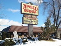 Apollo Burgers Restaurant in Salt Lake City