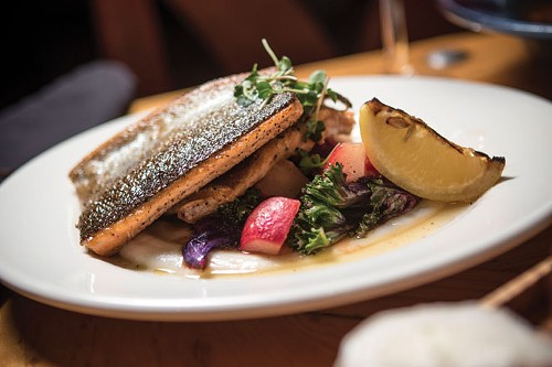 Avenues Bistro on Third's Grilled Trout