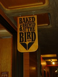 Baked and Brewed at the Bird