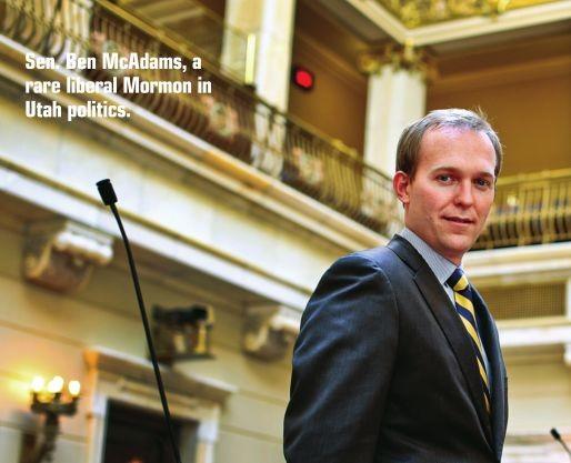 Before becoming Salt Lake County Mayor, then Sen. Ben McAdams, D-SLC, sponsored LGBT nondiscrimination legislation in 2011 and 2012
