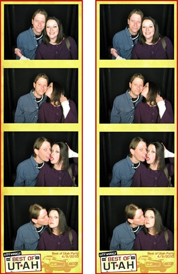 Best of Utah Party 2010 - Photobooth
