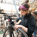 Women's Night at the Bicycle Collective