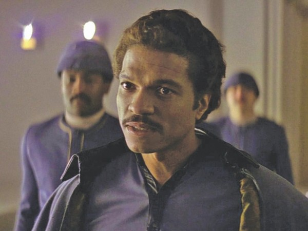 Billy Dee Williams as Lando Calrissian in Star Wars.