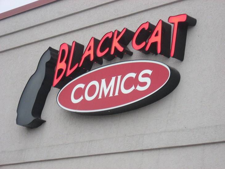 Black Cat Comics: 3/4/10