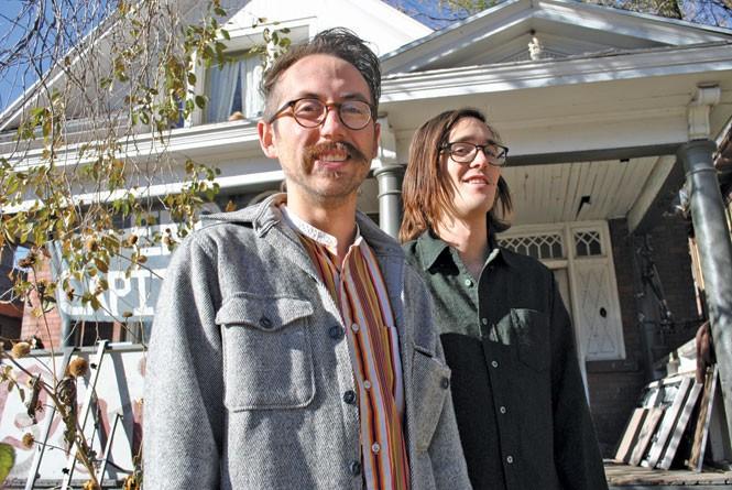 Bradley DeHerrera and Sage Paterson - RACHEL PIPER