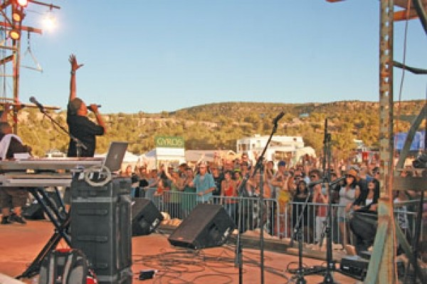 Chali 2na at Desert Rocks Festival 2011