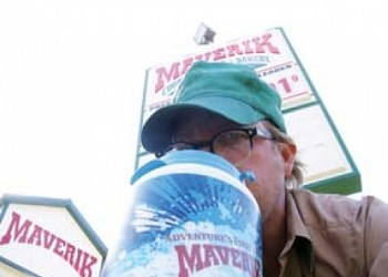 Cheap Shot   I Stop for Caffeine: Gulping big at Maverik and Corner 22