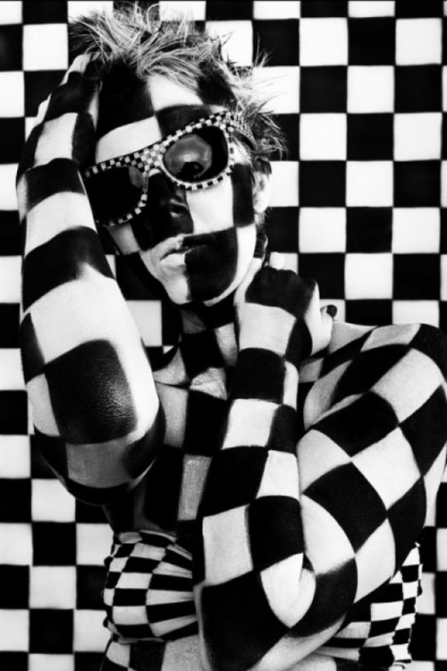 """Checkered"" by Renee Lee"