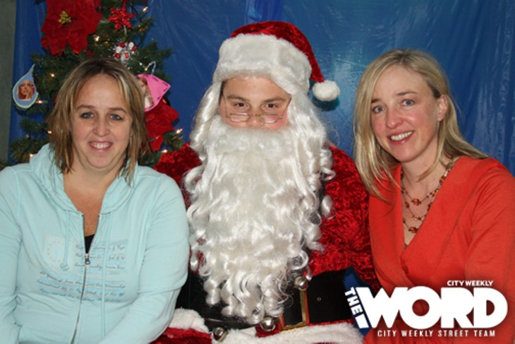 City Weekly Santa Photo Booth at Craft Sabbath (12.11.11)