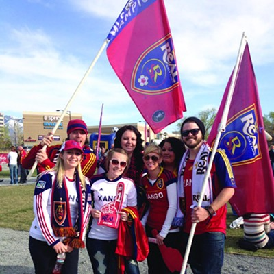 City Weekly's REAL Salt Lake Night (4.7.12)