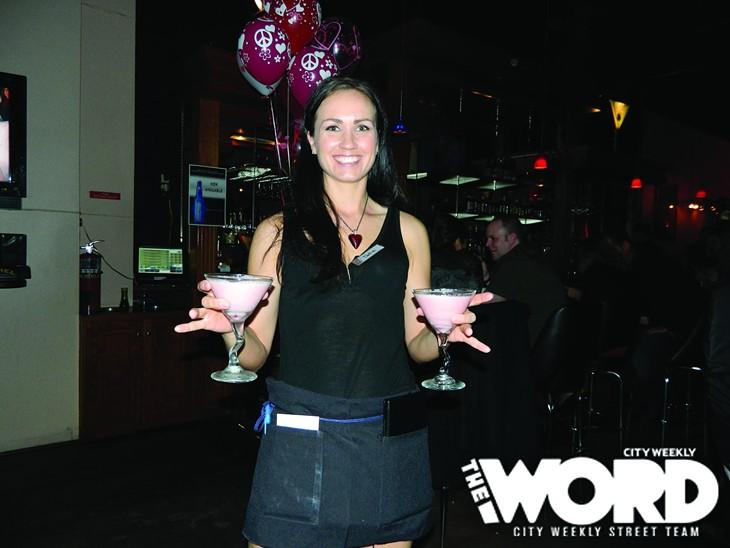 Club Night at Kristauf's Martini Bar (2.14.12)