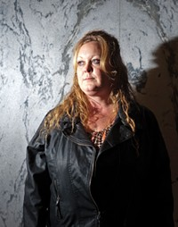 Debbie Mayo, a domestic-violence survivor who now runs New Horizons Crisis Center in Richfield - NIKI CHAN
