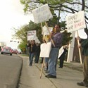 Divorced dad hunger strikes to protest child support laws