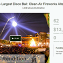 Eve's failed disco ball is a great example of how not to do a Kickstarter