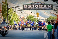 Fall in Brigham City