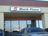 Five Buck Pizza Restaurant in Salt Lake City