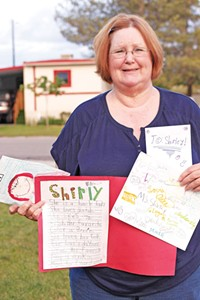 Former Uintah Elementary School lunchroom manager Shirley Canham