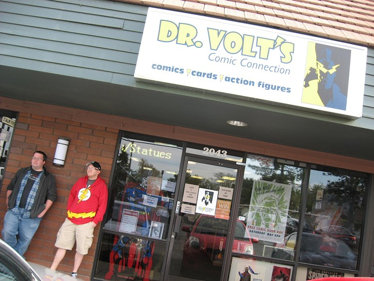 Free Comic Book Day at Dr. Volts: 5/3/14