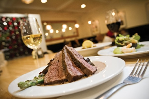 Gourmandise's Au poivre slow-roasted tri-tip steak