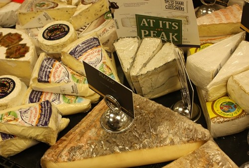 Gourmet cheese counters are growing in popularity, with most offering over 50 varieties. - WINA STURGEON