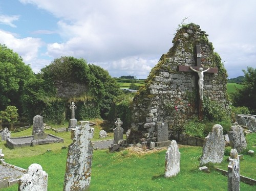 Graveyard in County Waterford, Ireland