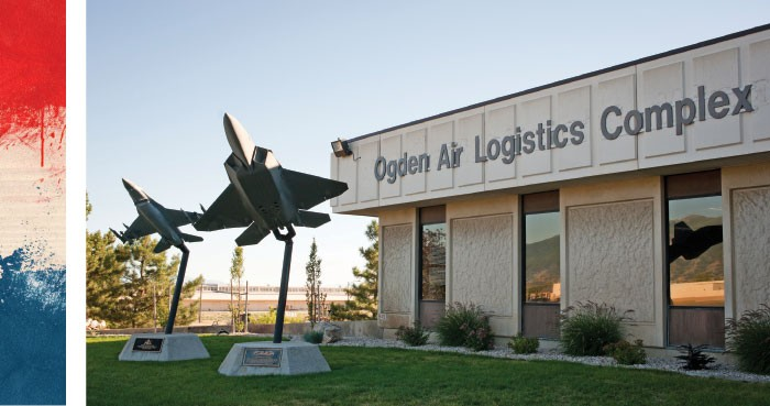 Hill's Ogden Air Logistics Complex, where maintenance of fighter aircraft is performed - NIKI CHAN