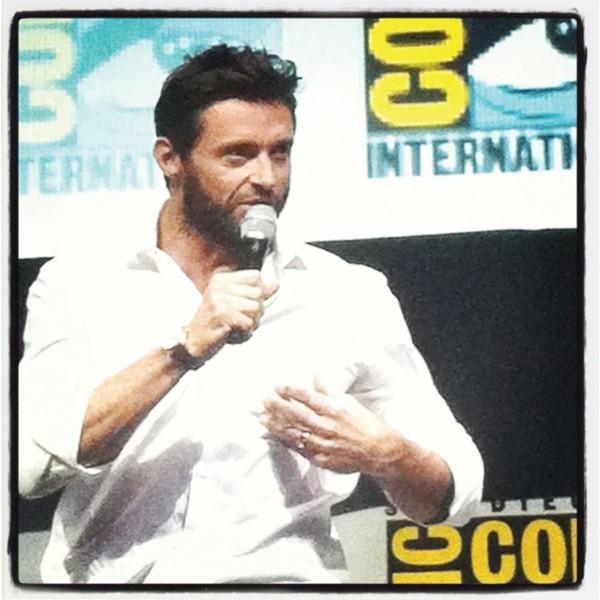 Hugh Jackman at the SDCC X-Men panel