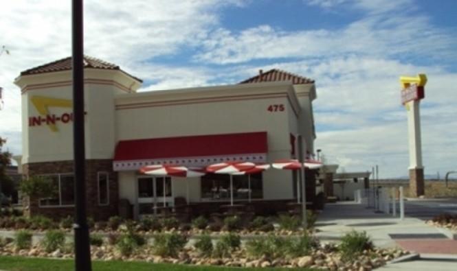 In N Out Burger Bountiful Woods Cross N Salt Lake