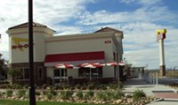 In-N-Out Burger Restaurant in Centerville